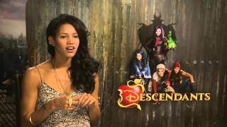 Sofia Carson & Booboo Stewart on HSM mania and British accents