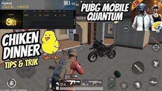 Tips Jitu Chiken Dinner PUBG Mobile Quantum - FULL GAMEPLAY !