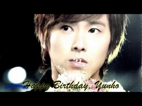 Happy Birthday, Jung Yunho!