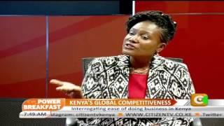 Power Breakfast:  Kenya's Global Competitveness