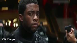 Block panther first look Captain America civil war movie