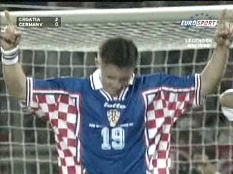 Kroatien Deutschland 1998