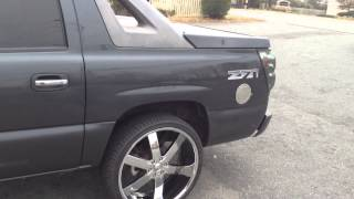 02 Chevy Avalanche comes to visit Rimtyme Charlotte N.C. Thumbnail