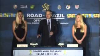 12BET CONCACAF World Cup Qualifying Draw - Brazil 2014
