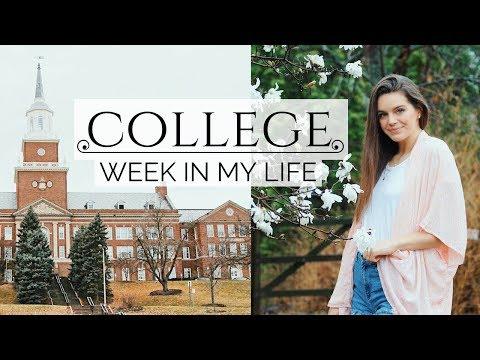 Week in My Life: College Classes, Yoga, & Work!