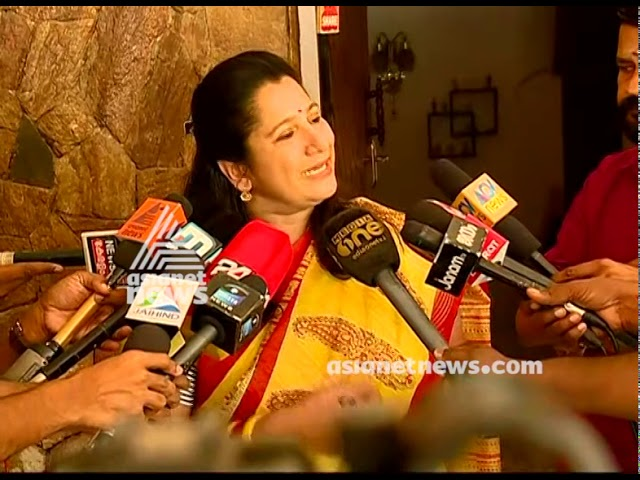 Election 2019| Nisha Jose K Mani asserts she will not contest in coming Lok sabha Election