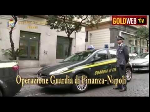 Operazione della Guardia di Finanza-Napoli