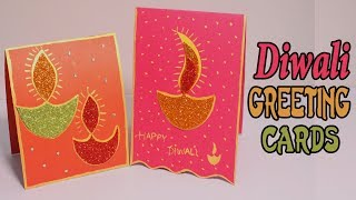 DIY Diwali Handmade Cards   Easy Greeting Card ideas for #diwali 2017 #Happy Diwali all