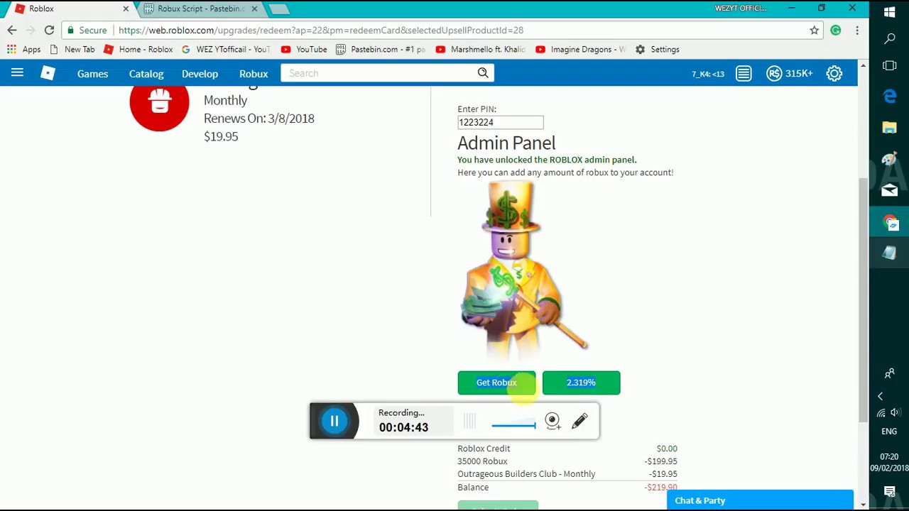 Robux Hack Supervalue Working Youtube