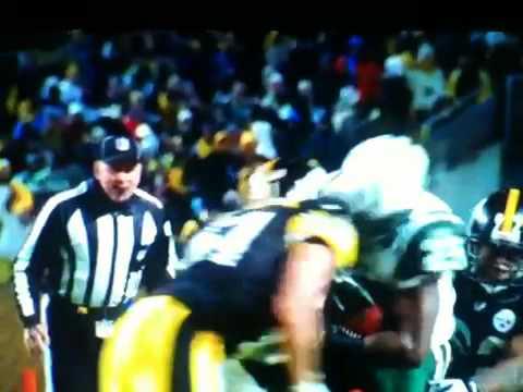 Slow Motion Brutal Helmet to Helmet - Greene vs Farrior