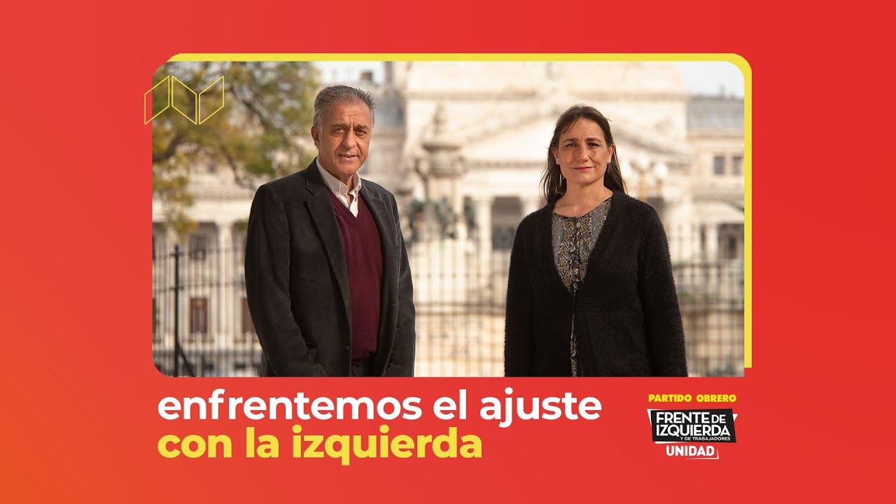 Enfrentemos el ajuste con la izquierda // En PBA Romina Del Plá, Néstor Pitrola y Nicolás Del Caño