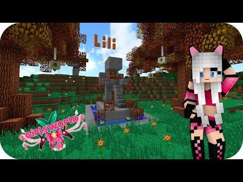 LILI ME MANDA UNA CARTA! Y YO A ELLA TAMBIÉN!! - Girl's World 2 Minecraft Ep 64