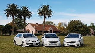 Etios / Ka / Prisma - Comparativo sedanes - Matías Antico - TN Autos