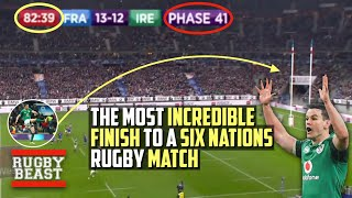The Most Incredible Finish to a Six Nations Rugby Match