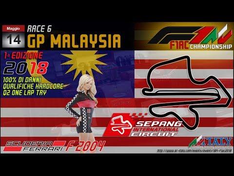 Assetto Corsa - F1AC - ROUND 06: Malaysia
