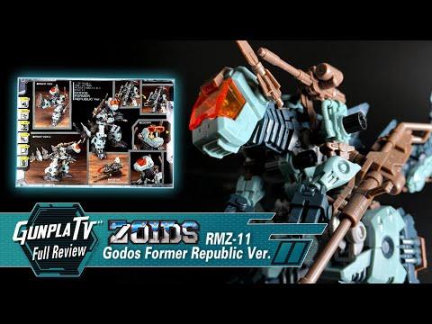 Zoids Godos Former Republic Ver. | Gunpla TV
