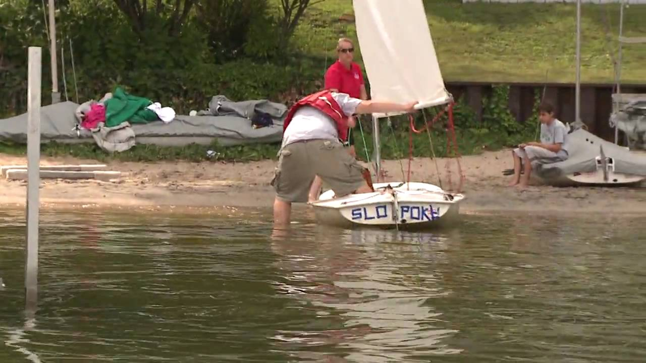 Butterfly Sailboat Race At Slyc Youtube