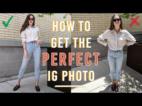 How To Get The Perfect Instagram Photo - YouTube