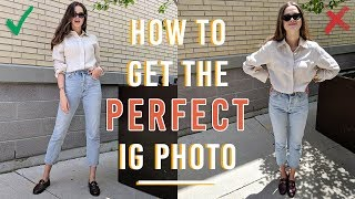 How To Get The Perfect Instagram Photo