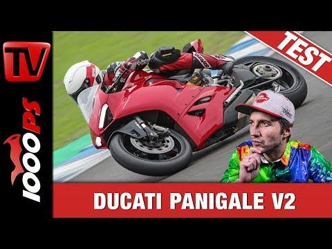 Ducati Panigale V2 Test - Edel, schön und schnell