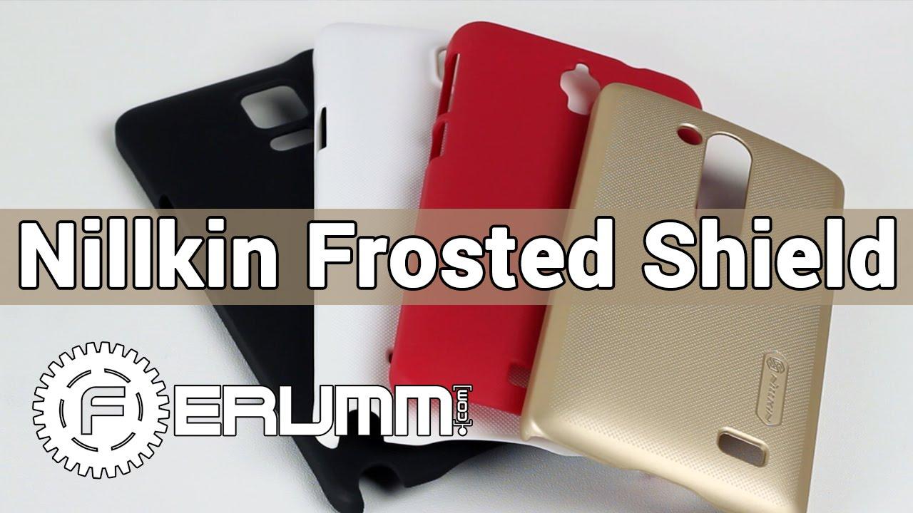 Nillkin Super Frosted Shield - подробный обзор накладки на ...