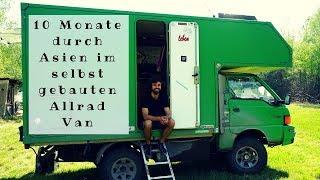 Mit dem Allrad Van durch Asien - Martin lebt seit 2 Jahren in Mr. Pink
