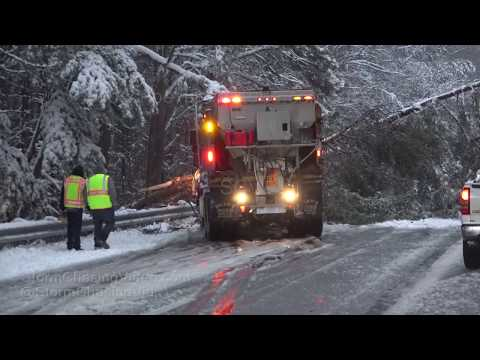Richmond, VA Powerful Winter Storm - 12/9/2018