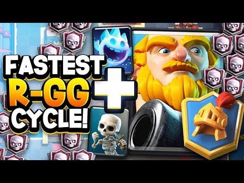 HE GOT #1 GLOBAL w/ 2.9 ROYAL GIANT CYCLE!! WOW.