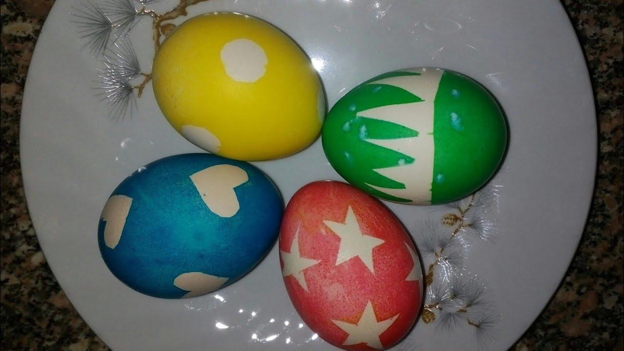 طريقه تلوين البيض بالالوان الطبيعية رووووووعه