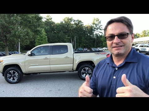 Feature Toyota of the Week - 2018 Tacoma TRD Sport Manual Transmission