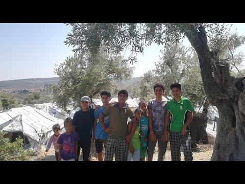 Le camp de Moria sur l'île de Lesbos est en urgence sanitaire
