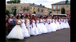 Парад невест. День города Мценска 2018, часть 1