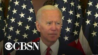 Joe Biden gives speech in Philadelphia on nationwide protests