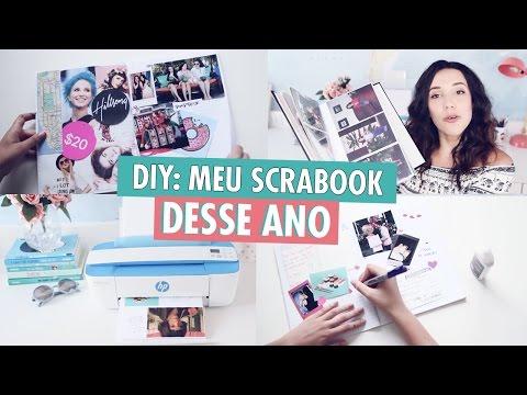 DIY: criando seu próprio Scrapbook