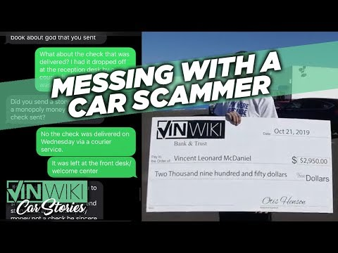 Can I Run A Nigerian Scam On A Car Scammer?""