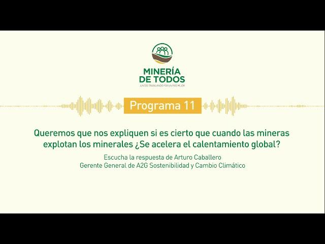 Puedes resolver tus dudas sobre la actividad minera formal en nuestro país, directamente con nosotros en https://www.facebook.com/mineriadetodos.