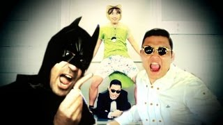 ITALIAN VERSION PSY BATMAN GANGNAM STYLE(ENGLISH VERSION HERE http://youtu.be/HKsYg1m82Pw Music Parody of the video PSY - GANGNAM STYLE by Davidekyo and Gabriele Coco. ENGLISH ..., 2012-09-27T14:24:20.000Z)