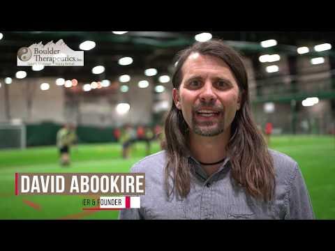 Boulder Therapeutics SPORTS MASSAGE therapist, David Abookire.  20+ yrs with professional athletes