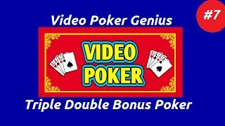 Video Poker Genius [Part 7] - Triple Double Bonus Poker