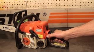 The chainsaw guy shop talk Stihl MS 180 Chainsaw 4 4