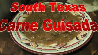 Sapo's South Texas Carne Guisada