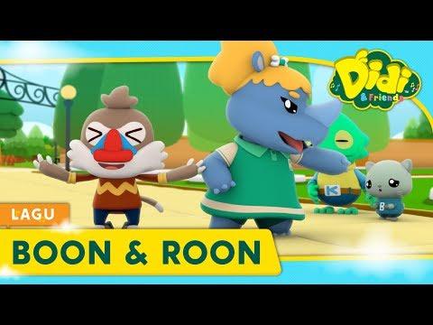 Didi Lagu Baru | Boon & Roon | Didi & Friends Lagu Kanak-Kanak