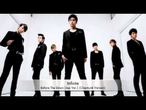 Infinite - Before The Dawn [Jap Ver.] (Chipmunk Version + MP3 DL)