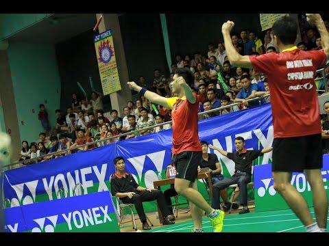 Chung kết đôi nam cầu lông Toàn quốc 2016 Hà Anh/ Mạnh Thắng vs Hoàng Anh/ Quốc Việt