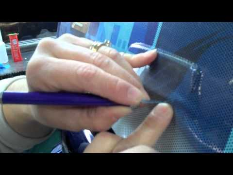 Installing A Rear Window Screen on Your Car/Truck/Van