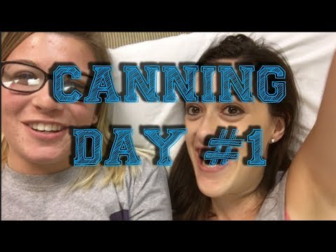 DAY IN MY LIFE AT PENN STATE | CANNING DAY #1