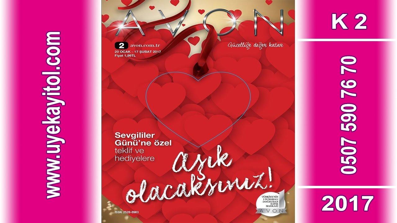 Avon k2  Katalog 2017 -  Avon Sevgililer Günü Kataloğu 2017- Full HD - Avon Şubat Katalog 2017