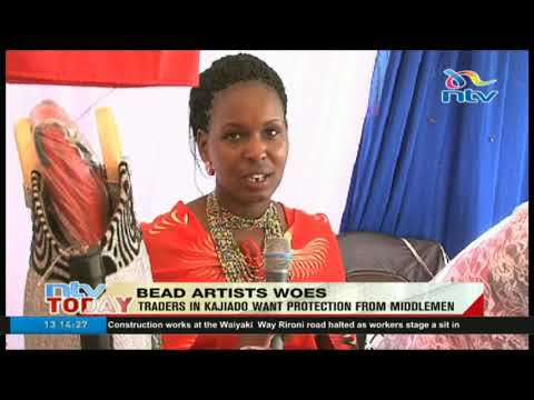 Bead traders in Kajiado want protection from middlemen