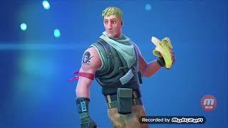 Make the banana skin in Fortnite 😱😀😀 [Fortnite intro]!!!
