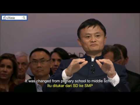 Jack Ma's Rejection Stories   Lesson for Entrepreneurs English + Indonesian Subtitle